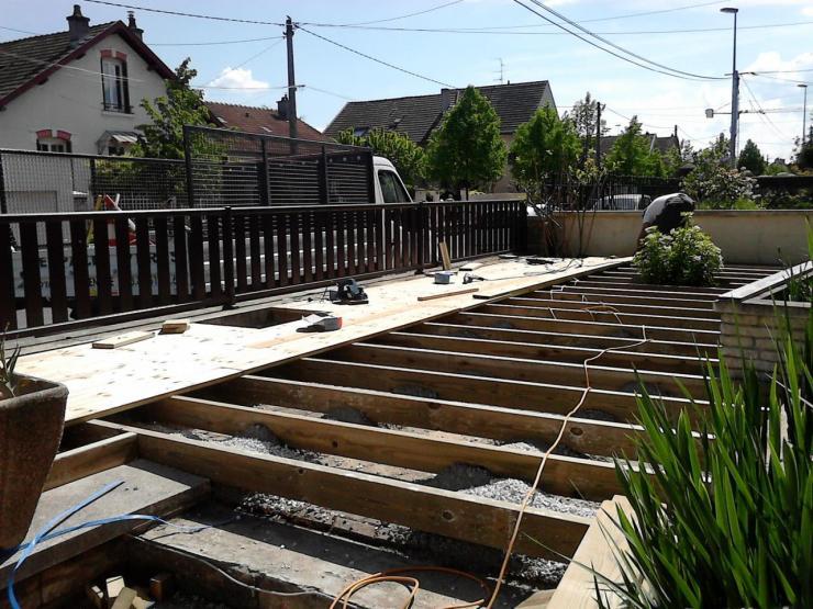 R alisation d 39 une terrasse bois 2 - Photos terrasse bois ...